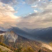 drought into mountains